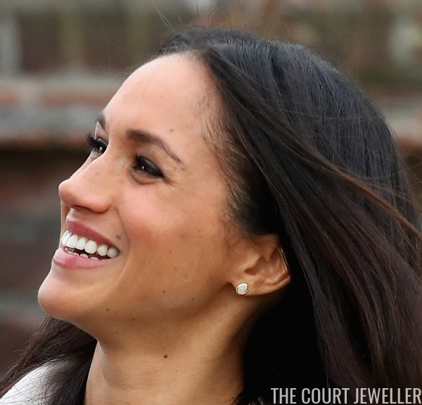 Markle Sparkle Meghan S Opal Earrings The Court Jeweller