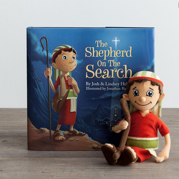 Shepherd on the Search doll, book