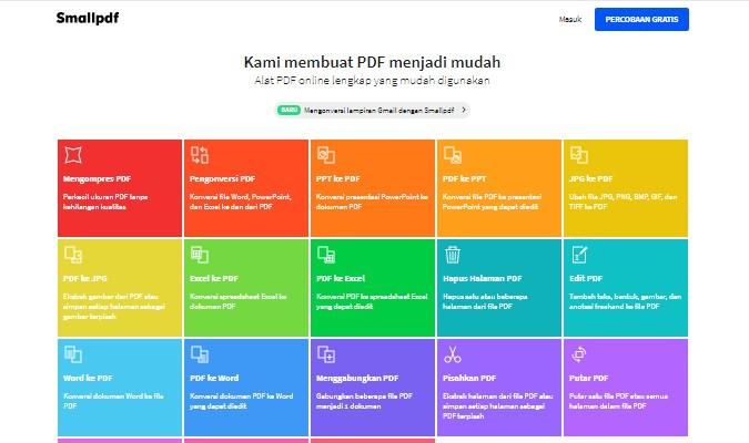 Situs Terbaik untuk Mengubah file PDF ke Word secara Online - SmallPDF