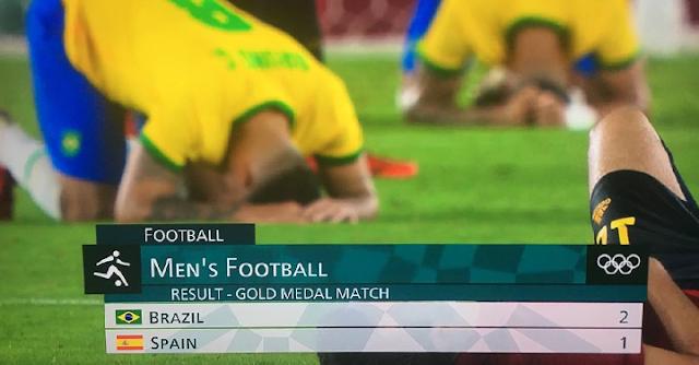 España vs Brasil