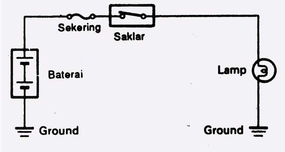 wiring diagram lampu belakang