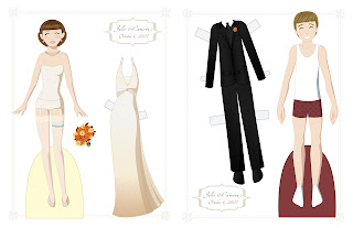Wedding Anniversary Paper Doll