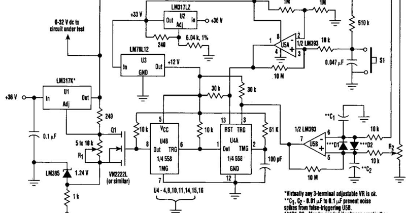 Over voltage Protection Circuit Diagram ~ Circuit Diagram