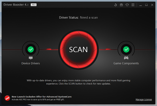 IObit Driver Booster 4.2 PRO Serial Key