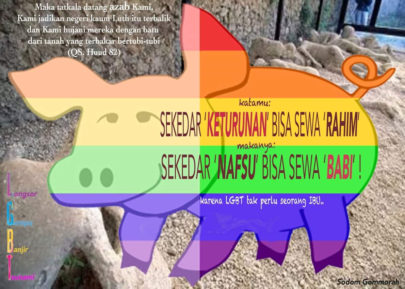 Dulu Berhijab, Kini Kampanye Pro Kaum Sodom