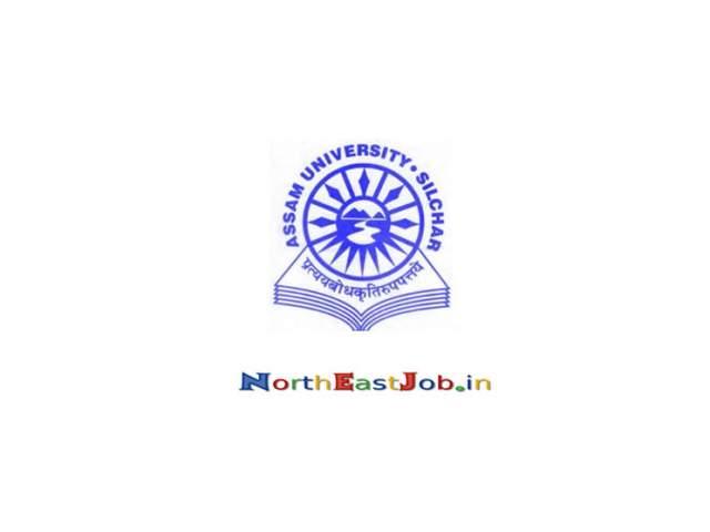 Assam-University-Silchar-Jobs-December-2019