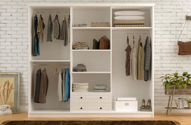 7 Tip Memilih Lemari Baju Minimalis untuk Kamar yang Sempit