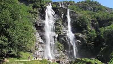 Cascate dell'Acquafraggia Piuro Valchiavenna
