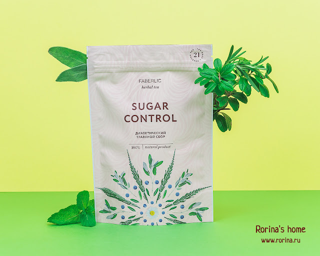 Faberlic Диабетический травяной сбор Sugar Control Артикул 15665 - отзывы с фото