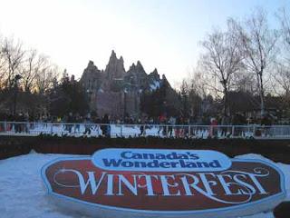 Winterfest Canada's Wonderland
