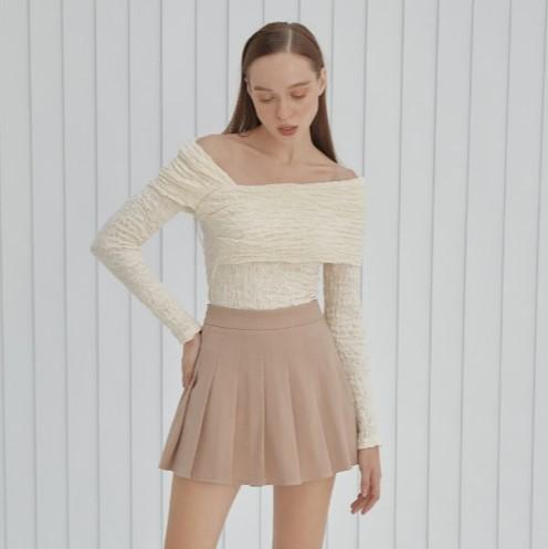COCO SIN - Bodysuit Kem Thun Nhún