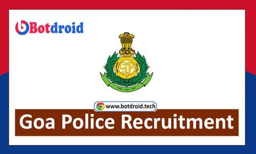 Goa Police Recruitment 2021 - Apply Online for Goa Police Job Vacancies