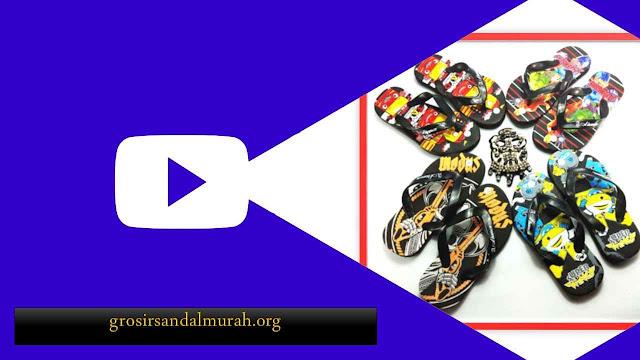 grosirsandalmurah.org - Sandal Anak - Sandal Karakter Spon Anak