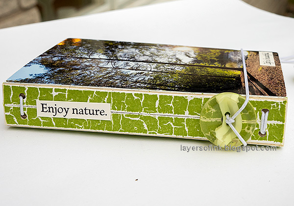 Layers of ink -  Outdoor Sketch Book Tutorial by Anna-Karin Evaldsson.