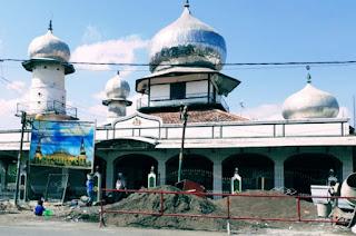 Estimasi Dana Rp3,84 Milyar, Pembangunan Fisik Masjid Babussalam Tanjung Terus Digenjot