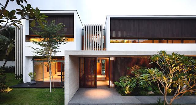 Fachadas estilo minimalista for Fachadas estilo minimalista casas