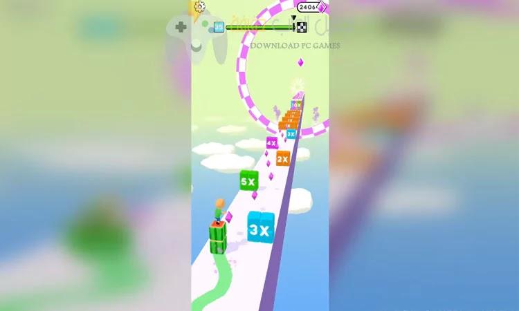 تحميل لعبة Cube Surfer الايفون مجانا