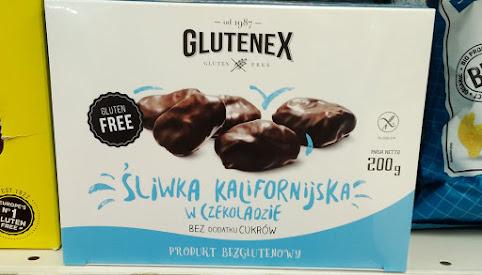 Śliwki w czekoladzie, Glutenex
