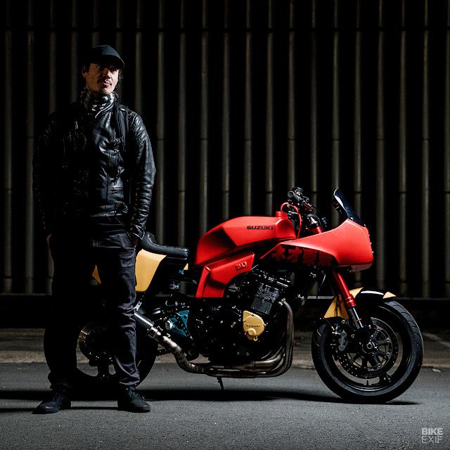 Cool Kid Customs - Neo Tokyo - Akira inspired bosozoku Slabby - Image Duy Vu Dinh via BikeExif
