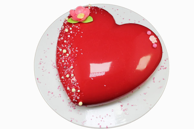 Corazón de chocolate y frutos rojos Thermomix