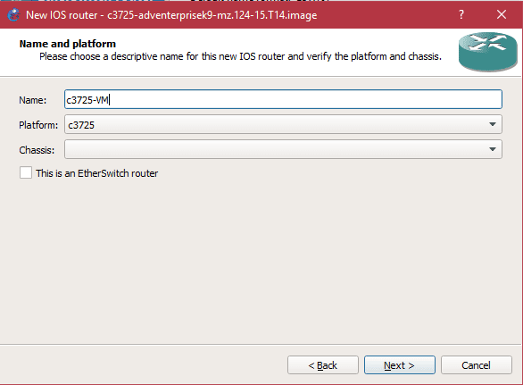 How to Add Router on GNS3 VM
