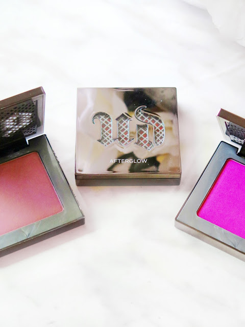 Brightest & Boldest | Urban Decay Afterglow 8HR Blush Review & Swatches