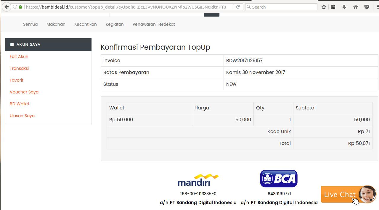 Lebih Hemat Berenang Di Waterbom Jakarta Pik Dengan Voucher Diskon Voucer Setelah Bd Wallet Sudah Terisi Balik Lagi Ke Merchant Yang Dipilih Yaitu Dan Klik Beli Pilih Pembayaran