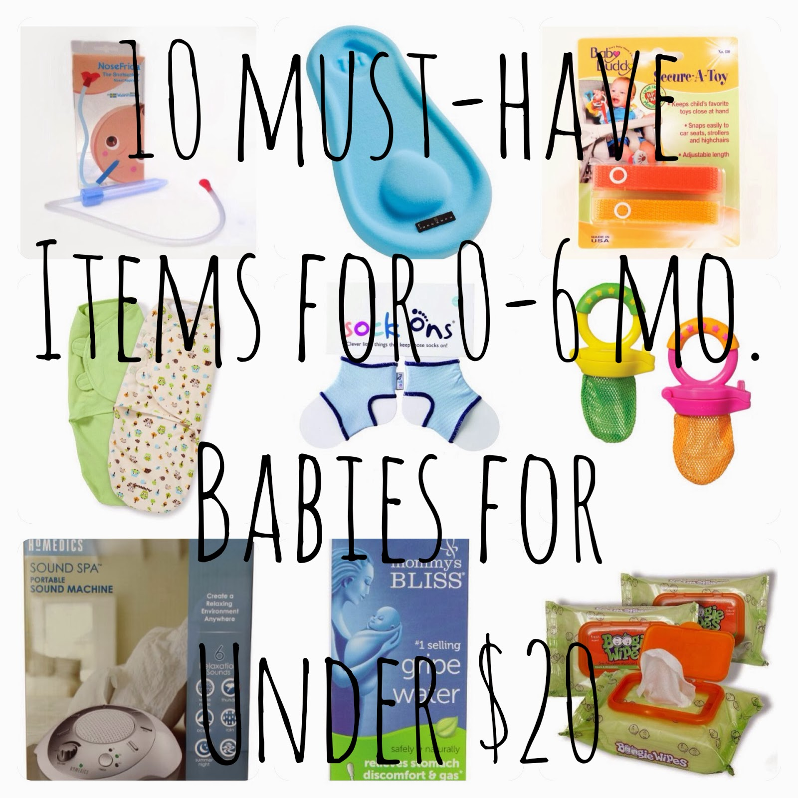Boyd Meets Girl 10 Must Have Items for 0 6 month old Babies