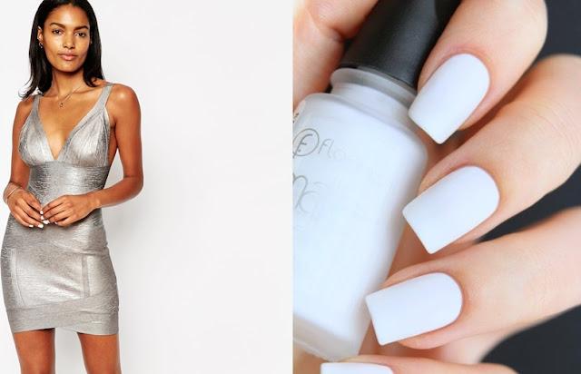 Gümüş Rengi Elbiseye Hangi Renk Oje Yakışır?