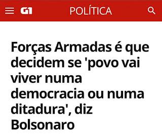 IDILVAN ALENCAR - Com Bolsonaro o brasileiro não tem um segundo de paz!