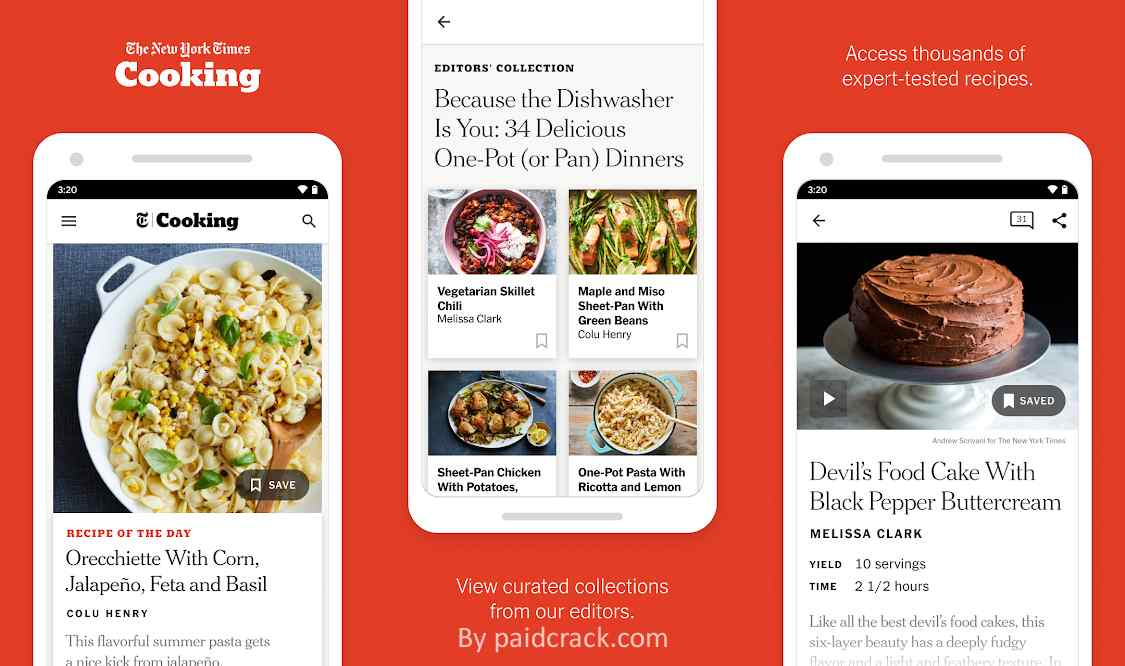 NYT Cooking Mod Apk 2.12.0 [Subscribed Subscribed Version]