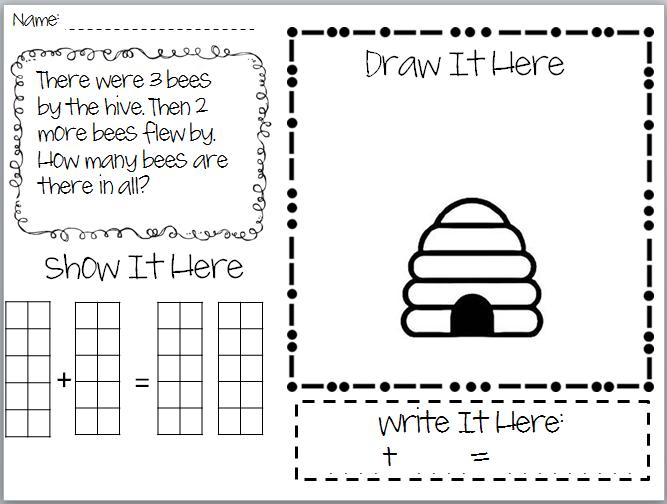 Number Names Worksheets kindergarten math word problems worksheets : Kindergarten Math Story Problems - Coffemix