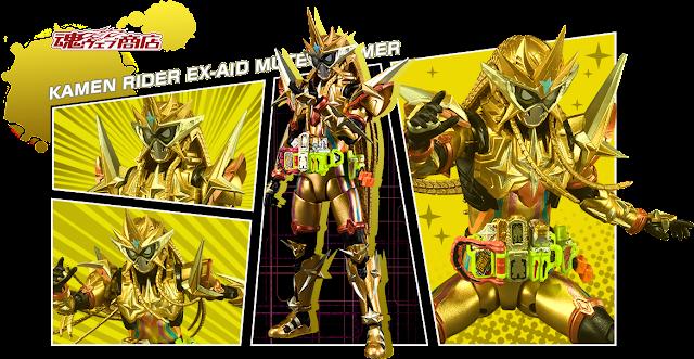 S.H. Figuarts Kamen Rider Ex-Aid Muteki Gamer Official Images Revealed