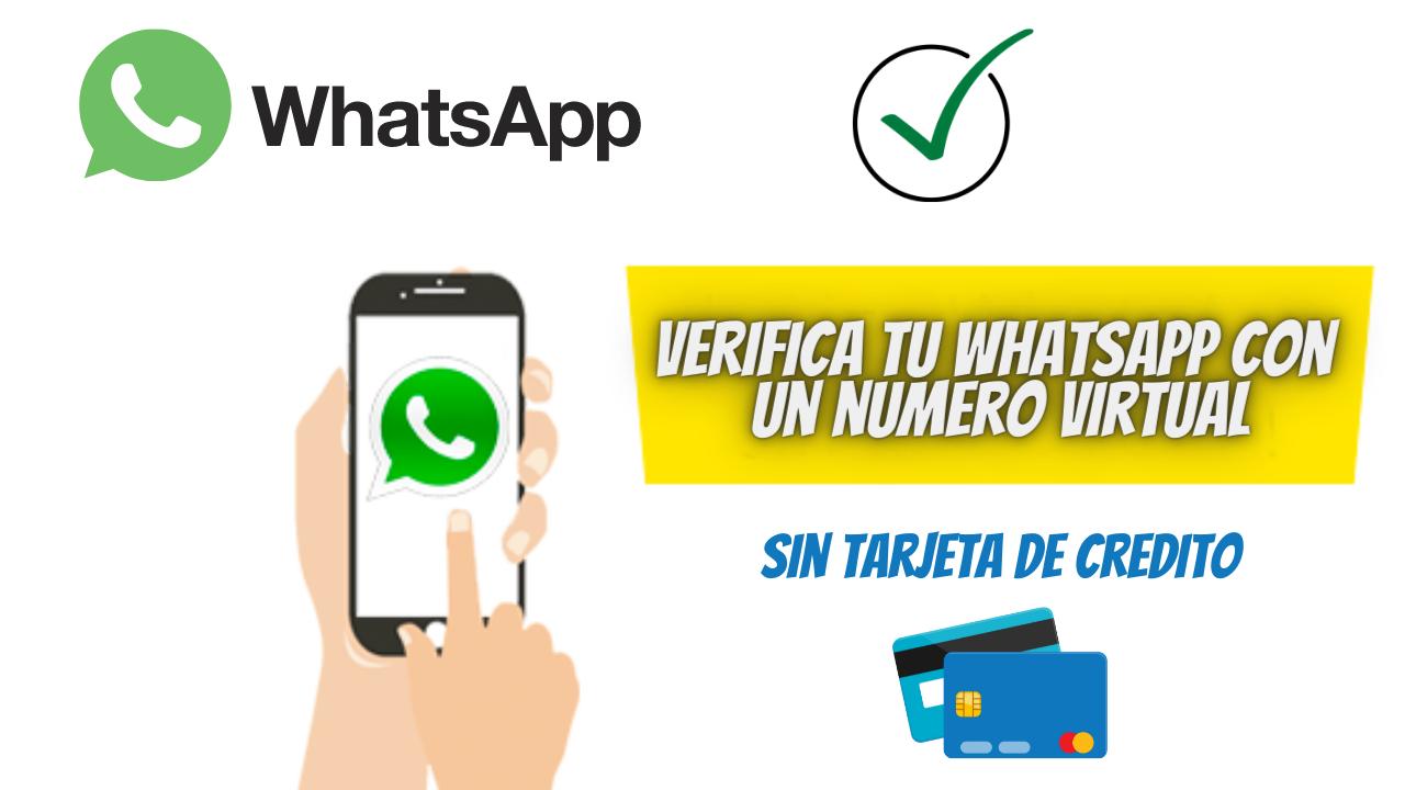 Como instalar WhatsApp sin chip