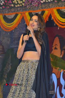 Actress Pragya Jaiswal Stills in Black Dress at Om Namo Venkatesaya Audio Launch Event  0041.JPG