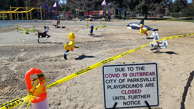 Parksville main family park is closed for business thanks to COVID-19.