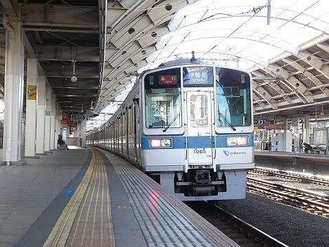 小田急線 急行 伊勢原行き2 1000形・3000形・8000形(2019年10月 台風19号に伴う運行)