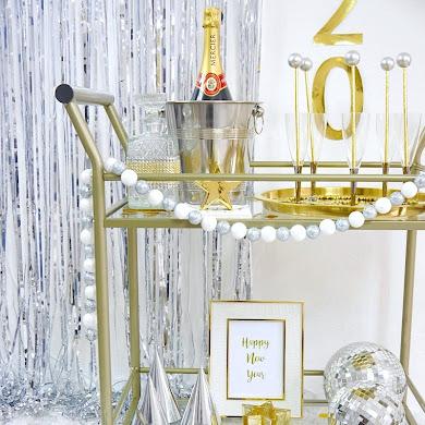 Décorations DIY Pour Le Réveillon du Nouvel An + Printables Gratuits