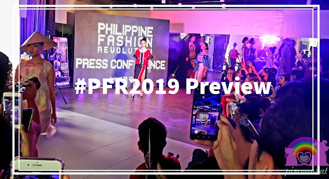 August 29, 2019 afternoon, I attended the Philippine Fashion Revolution Press Conference at the Lynn Bentsen Academy in Hemady Square.