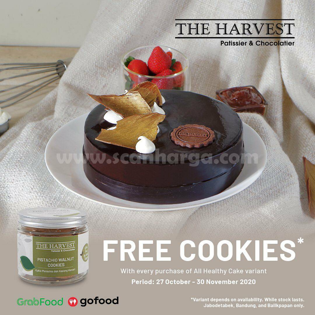 The Harvest Free Healthy Cookies