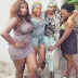 Throwback photo of Anita Joseph, Uche Elendu, Angela Okorie and Funke Akindele