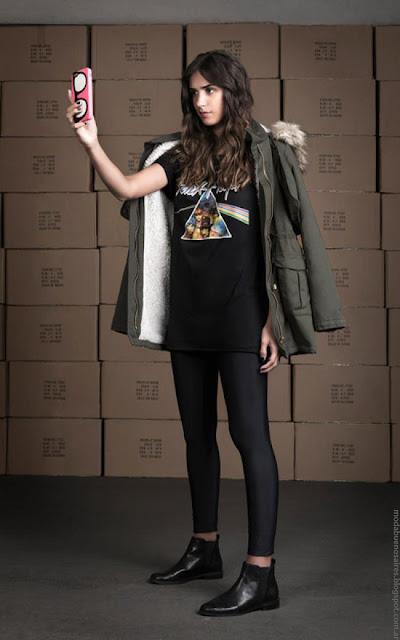 Moda invierno 2016 mujer. Wupper Jeans otoño invierno 2016 ropa.