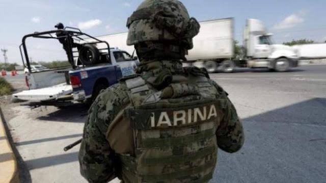 Duro golpe a La Marina , en Michoacán Sicarios los emboscan se habla de entre 2 y 6 elementos muertos, hay fuerte despliegue Militar