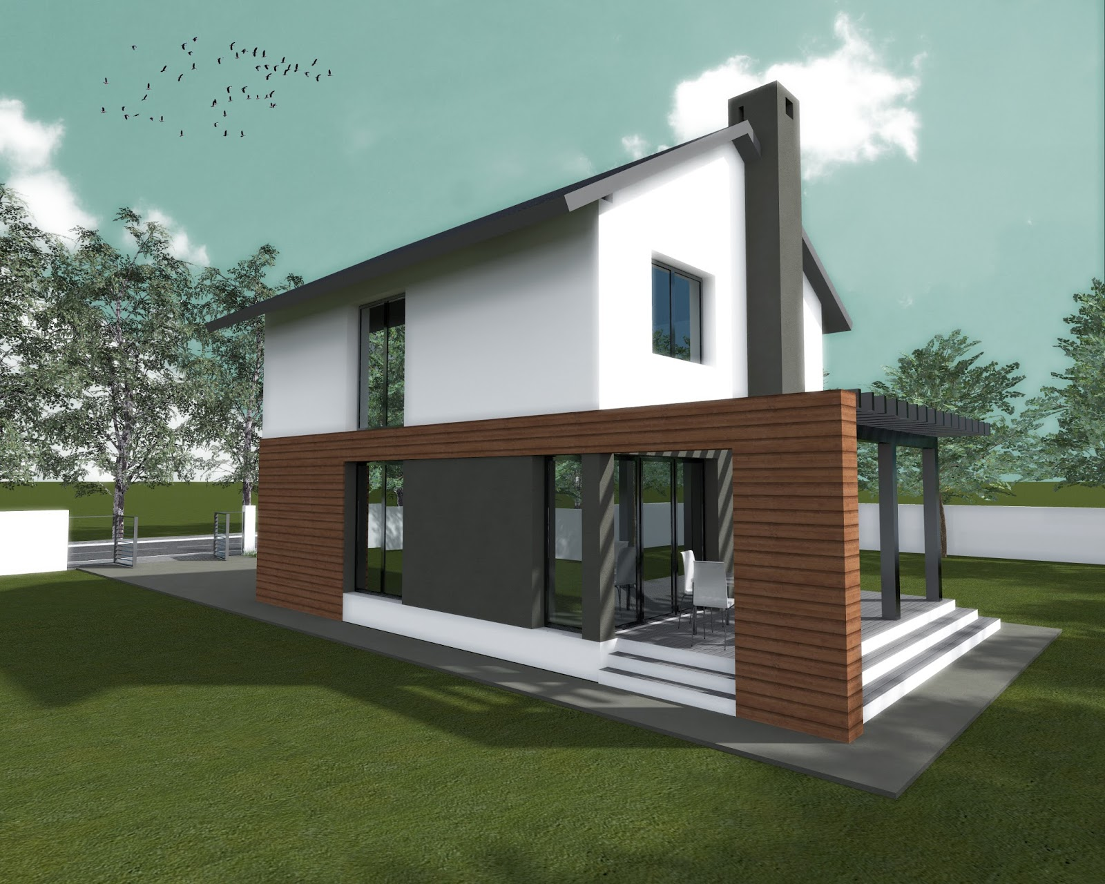 Simple two storey dream home for every filipino free home for Simple two story house