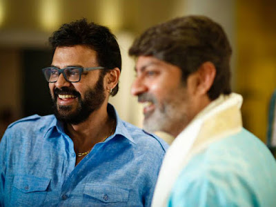 Venkatesh in Jagapathi babu's daughter Meghana wedding