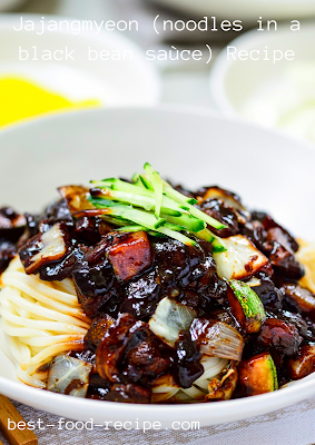 Jajangmyeon (noodles in a black bean saùce) Recipe