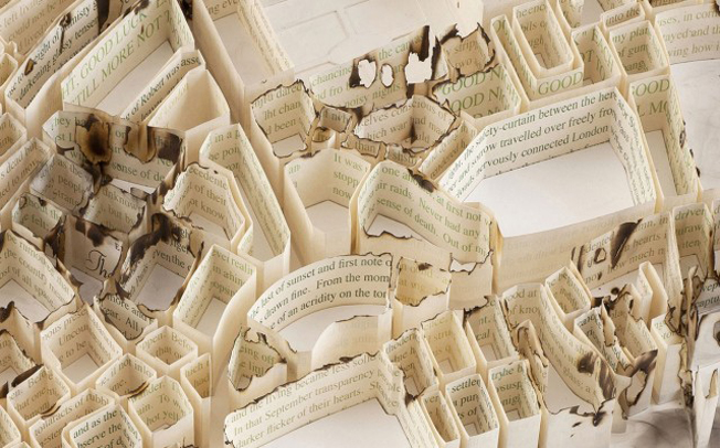 Doctor Ojiplatico. Matthew Picton. Of Urban History. Paper Sculpture Cities