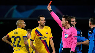 Vidal and Busquets return to give Barcelona more boost in midfield ahead Bayern Munich clash