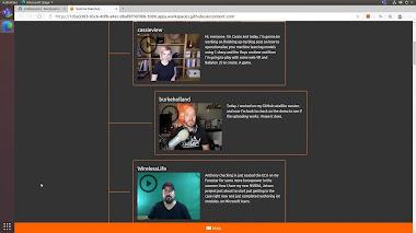 Microsoft mostra Edge in esecuzione su Ubuntu