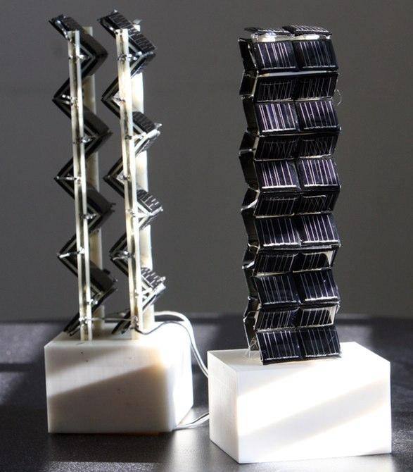 Panel Surya 3D Menyerap Daya 20 Kali Lebih Banyak Dibanding Panel Surya Biasa